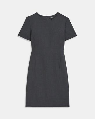 Theory Jatinn Dress in Good Wool