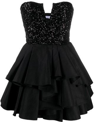 Amen Ruffled Short Dress