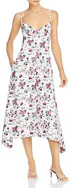 Rebecca Taylor Esmee Cotton Midi Slip Dress