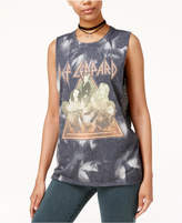 Hybrid Juniors' Def Leppard Studded Graphic Tank Top