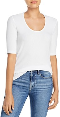 Dolan Scoop Neck Elbow Sleeve Tee