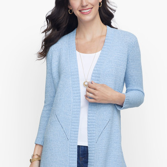 Talbots Open Front Sweater - Solid