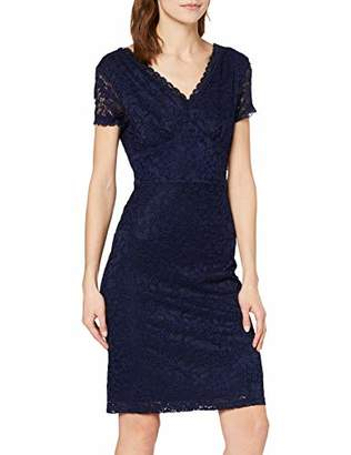 Yumi Fitted Lace Dress with Back Detail