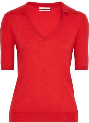 Co Ribbed Cashmere Top