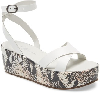 Matisse Sure Thing Platform Wedge Sandal