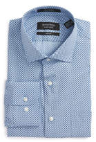Nordstrom Trim Fit Geometric Dress Shirt