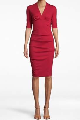 Nicole Miller Lipstick Red Dress