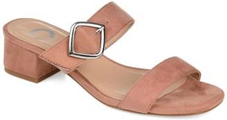 Journee Collection Santana Block Heel Sandal