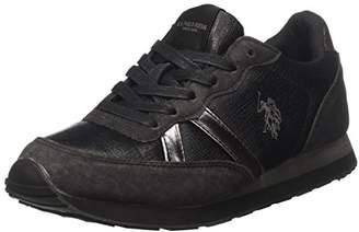 U.S. Polo Assn. Women VIOLA4241W7/YH1 Low Trainers Black Size: