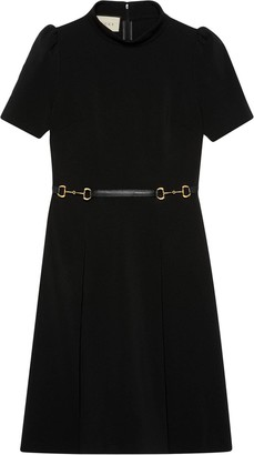 Gucci Horsebit Belt Dress