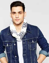 Esprit Infinity scarf Jersey Stripe