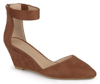 Journee Collection Kova Wedge Pump