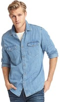 Gap 1969 Denim Western Slim Fit Shirt