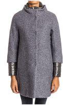 Herno Bouclè Wool Coat