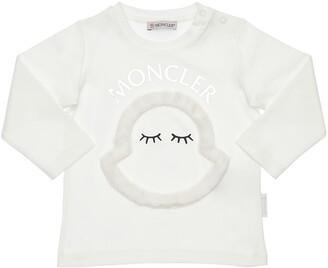 Moncler Cotton Interlock T-Shirt W/ Patch