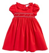 Luli & Me Infant Girl's Smocked Dress