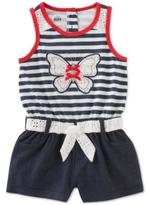 Kids Headquarters Denim Butterfly Romper, Baby Girls (0-24 months)