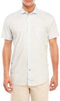 English Laundry Short Sleeve Printed Woven Shirt