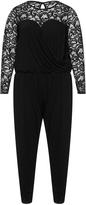 Zizzi Plus Size Lace jumpsuit