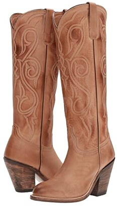 Lucchese Vanessa (Tan) Women's Shoes