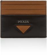 Prada Logo Leather Card Case