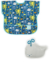 Bumkins Sea Friends Cold Pack & Junior Bib