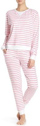 Sant And Abel Pink Zebra Stripe Joggers