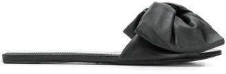 Balenciaga Bow-Embellished Slides