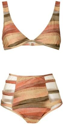 BRIGITTE Marta high waisted bikini set