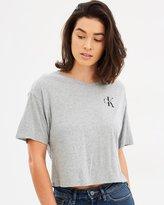 Calvin Klein Jeans Logo Cropped Tee