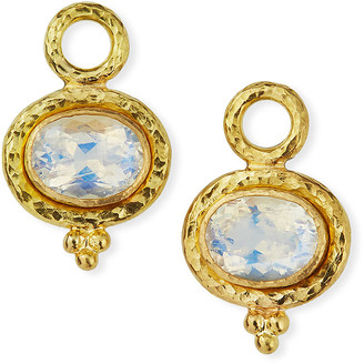Elizabeth Locke 19k Moonstone Earring Pendants