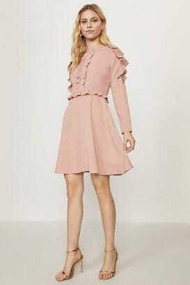 Coast Ruffle Long Sleeve Dress