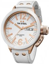 TW Steel Men's CE1036 CEO Canteen Leather Dial Watch