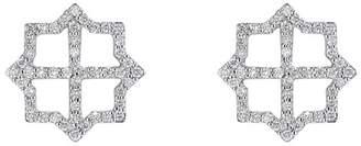 Asha By Ashley Mccormick Diamond Lattice Stud