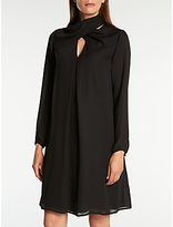 Somerset by Alice Temperley Wrap Neck Dress, Black
