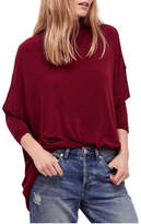Free People Free Turtleneck Red Sweater