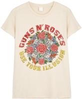 MadeWorn Guns 'N' Roses printed cotton T-shirt