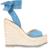 Paul Andrew platform espadrilles - women - Leather/Suede/rubber - 35