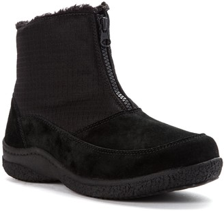 Propet Womens's Suede Cold Weather Boots - Hedy