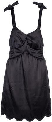 MM6 MAISON MARGIELA Scalloped Hem Dress