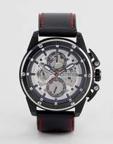 Police Black Watch With Black Multi Functional Dial