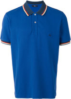 Fay embroidered logo polo shirt - men - Cotton - XL