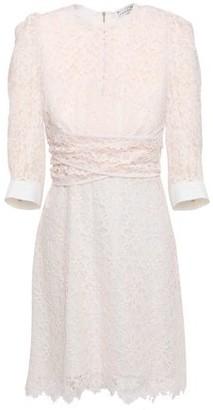 Sandro Nini Cotton-blend Corded Lace Mini Dress