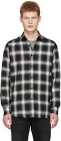 Saint Laurent Black Check Shirt