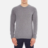 Lacoste Men's Crew Neck Sweatshirt Stone Chine
