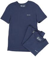 Columbia 100% Cotton Crew T-Shirt 3-Pack
