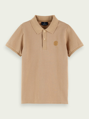 Scotch & Soda Logo cotton polo | Boys