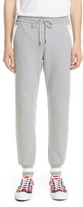 Thom Browne Contrast Pocket Cotton Sweatpants