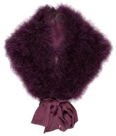 Cassin Marabou Feather Stole w/ Tags