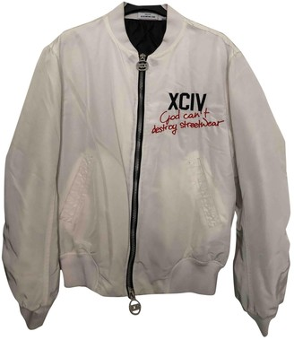 GCDS White Jacket for Women